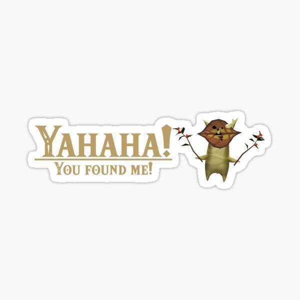 Yahaha! You found me! - Korok BOTW Sticker