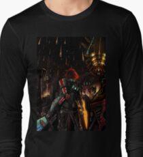 Mass Effect - Shepard told us... Long Sleeve T-Shirt