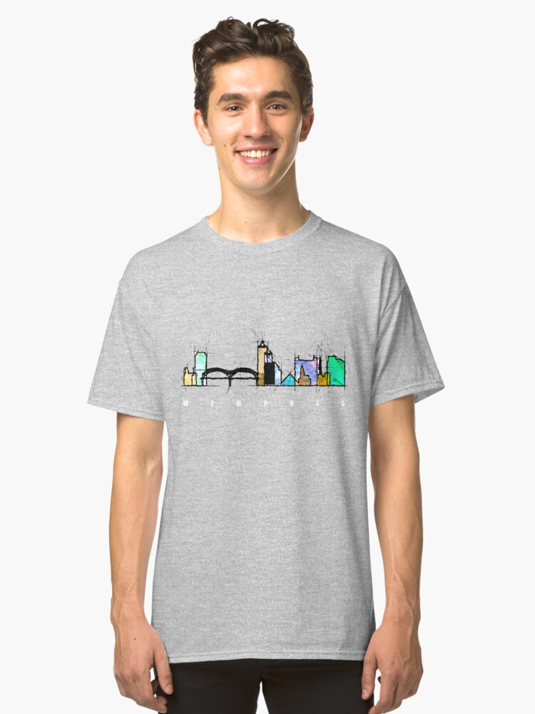 Memphis, Tennessee Classic T-Shirt Front