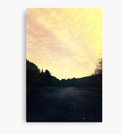 Airport Road Canvas Print