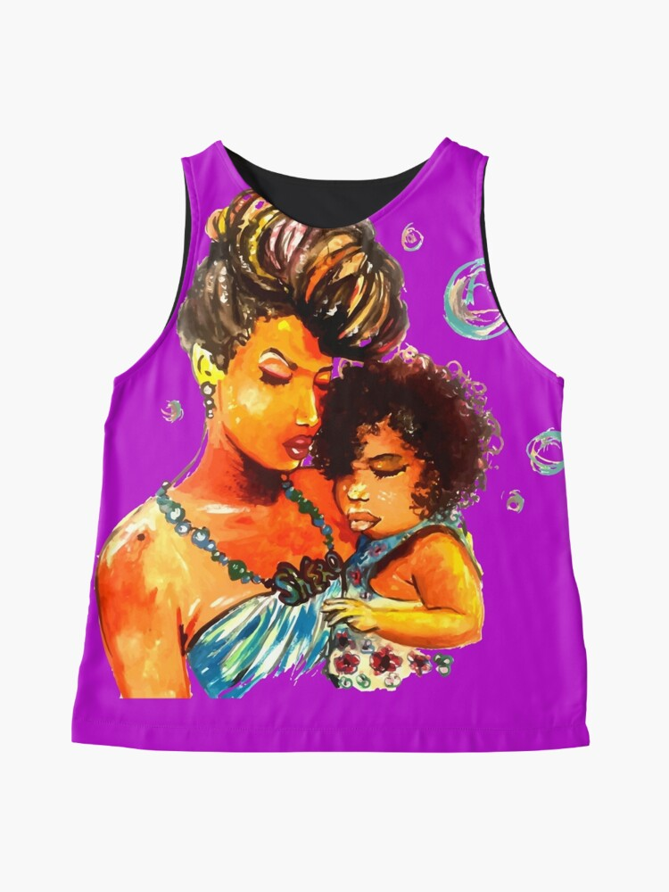 Alternate view of Natural Hair Flawless Curls Mother Daughter Sleeveless Top