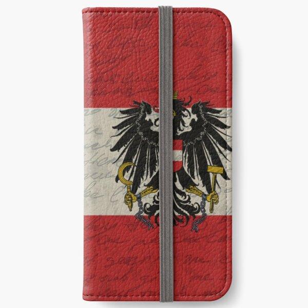Vintage flag - Austria iPhone Wallet