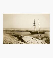 Mablethorpe Beach Lincolnshire 1894 Photographic Print