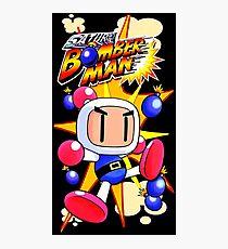 Saturn Bomberman Photographic Print
