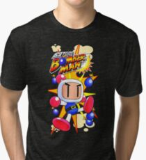 Saturn Bomberman Tri-blend T-Shirt