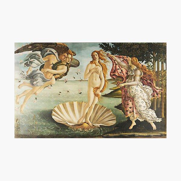 VENUS. The Birth of Venus, 1486, Sandro Botticelli. Photographic Print