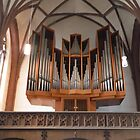 Dreikonigsgemeinde Church Pipe Organ - Frankfurt Germany by RosevineCottage