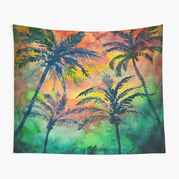 Summer Beach Party Tapestry