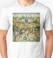 The Garden of Earthly Delights Full Image Unisex T-Shirt