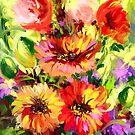 Red Flowers by Mikko Tyllinen