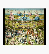 The Garden of Earthly Delights Full Image Photographic Print