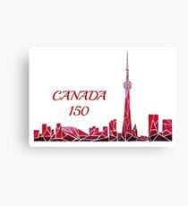 CANADA 150 Canvas Print
