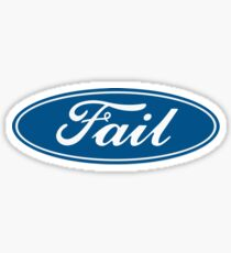 ford funny Sticker