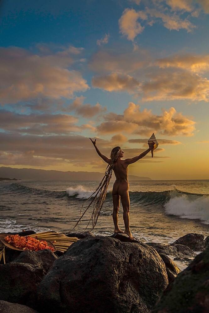 Sunset Wave Celebration by redmahan