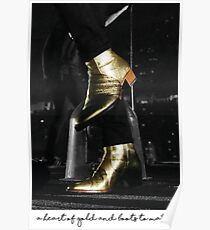 A heart of gold and boots to match Poster