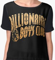 billionaire boys club Chiffon Top