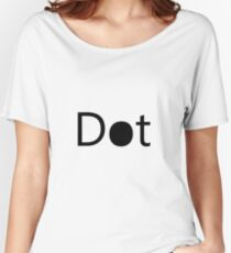 Simplistic Design Women's Relaxed Fit T-Shirt