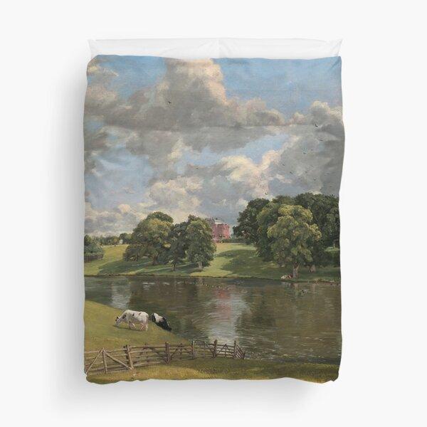 John Constable Wivenhoe Park, Essex 1816 Painting Duvet Cover