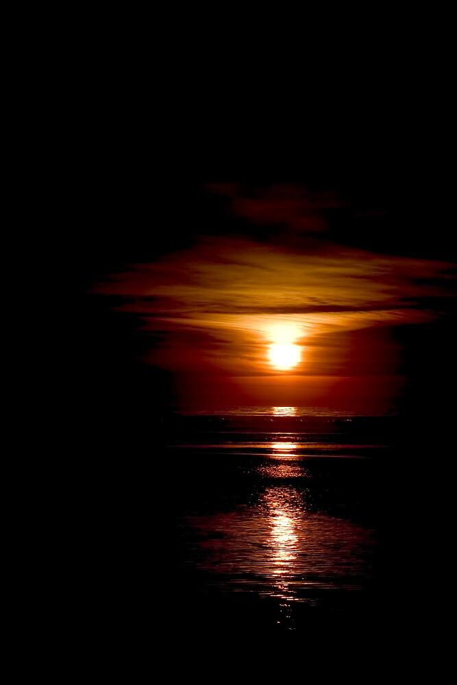The Darkest Sunset by Van Deman Design