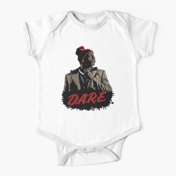 BWA Babies With Attitude Infant Gray Heather One-Piece Born in the USA Creeper
