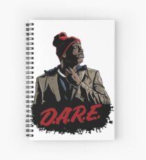 Tyrone Biggums Dare 2 Spiral Notebook