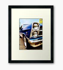 ford fairlane, route 66, miami, oklahoma Framed Print