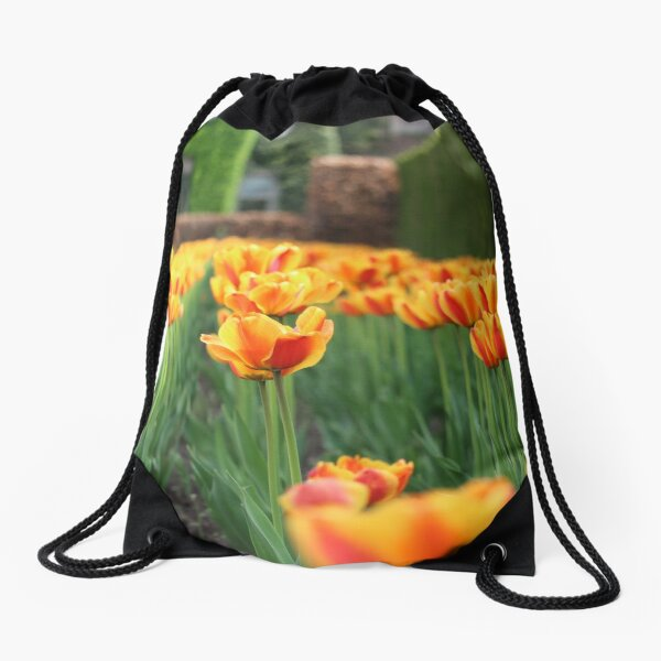 spring chorus Drawstring Bag