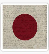 Vintage flag - Japan Sticker