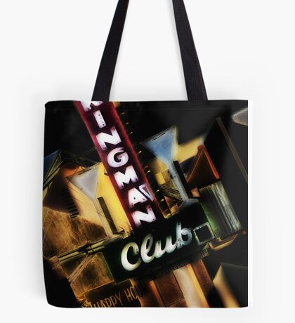kingman club, route 66, kingman, arizona Tote Bag