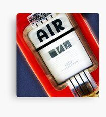 air, route 66, springfield, illinois Canvas Print