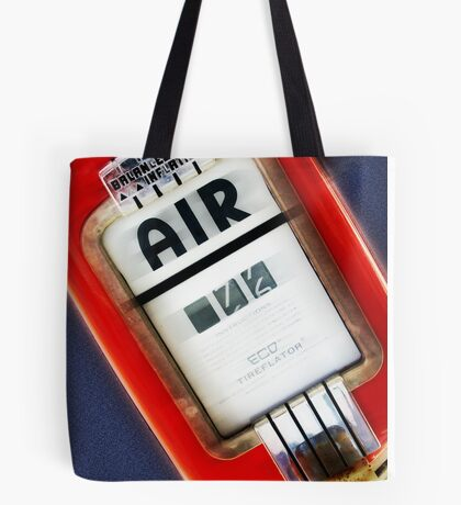 air, route 66, springfield, illinois Tote Bag