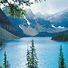 Moraine Lake by Simon Hodgson