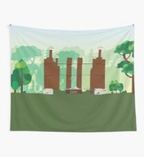 Gloucester, Va - Rosewell Plantation Wall Tapestry