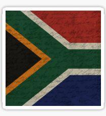 Vintage flag - South Africa Sticker