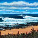 Jeffrey's Bay, South Africa by Clark Takashima
