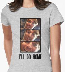 Shane Dawson - I'll Go Home Slides Womens Fitted T-Shirt