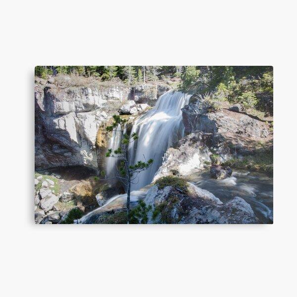 Paulina Creek Falls Metal Print