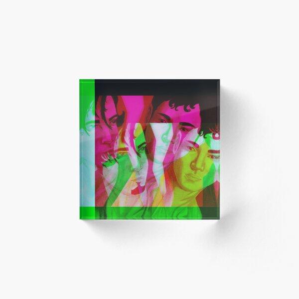 Akio and Brandon 2 Acrylic Block