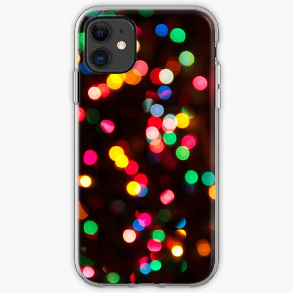 Bokeh - Christmas Light iPhone case iPhone Soft Case