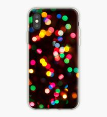 Bokeh - Christmas Light iPhone case iPhone Case