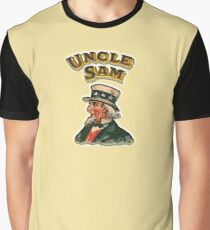 UNCLE SAM, Vintage, Advertising Image, America, American, USA, US Graphic T-Shirt