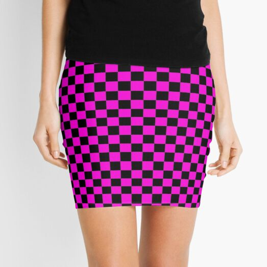Missing Texture Collection Mini Skirt
