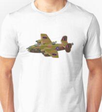 Cartoon retro bomber Unisex T-Shirt