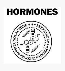 Trans Girl Hormone Ramones Photographic Print