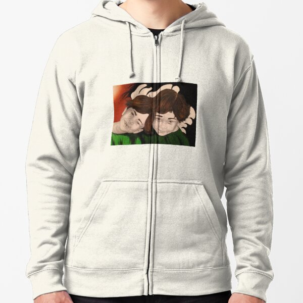 Chi and Stephen Zipped Hoodie
