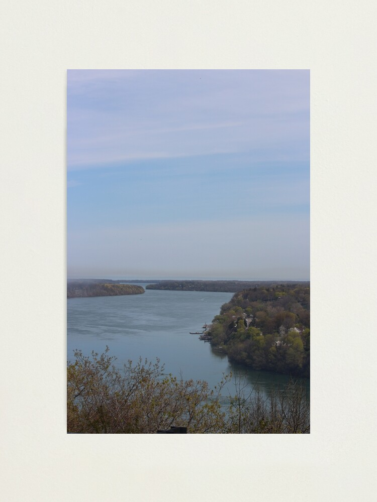 Alternate view of Niagara River Photographic Print