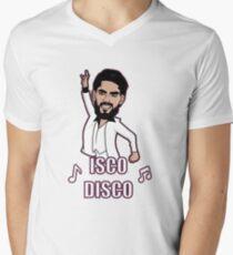 ISCO DISCO Mens V-Neck T-Shirt