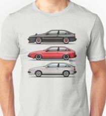 Isuzu Piazza/Impulse Trio Unisex T-Shirt