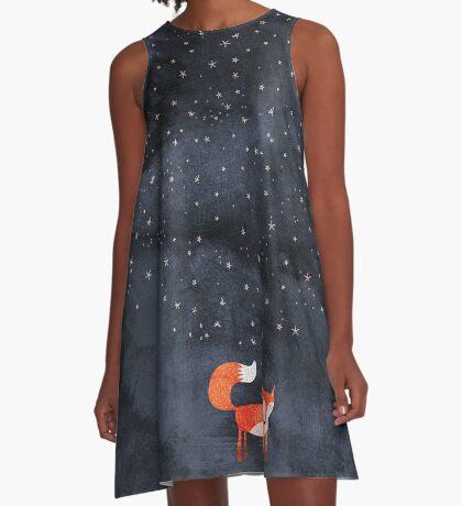 Fox Dream A-Line Dress