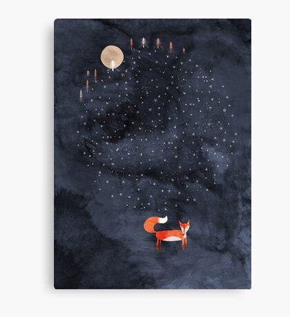 Fox Dream Canvas Print